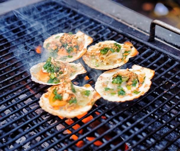 หอยเชลล์ สดๆ